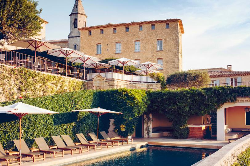 Hotel Crillon le Brave - Swimming Pool